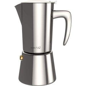 the bonvivo espress coffee percolator on a white background