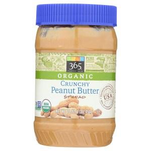 365 Everyday Value Organic Crunchy Peanut Butter