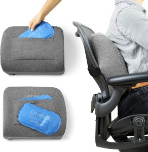 best back support pillows cureve natural therapies