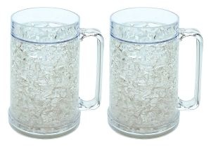 Ziggy V Double Wall Gel Frosty Freezer Mugs
