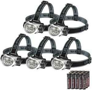 best running lights everbrite 5 pack headlamp