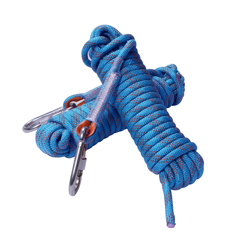 Fding climbing rope