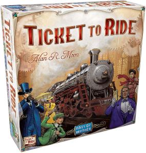 best board games disney villainous ticket to ride