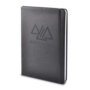 the nextlevel goal tracking notebook on a white background