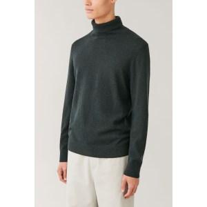 COS Merino-Yak Roll-Neck Sweater