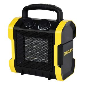 stanley heavy duty portable heater on a white background