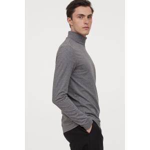 H&M Muscle Fit Turtleneck Shirt