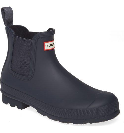 hunter rain chelsea boots