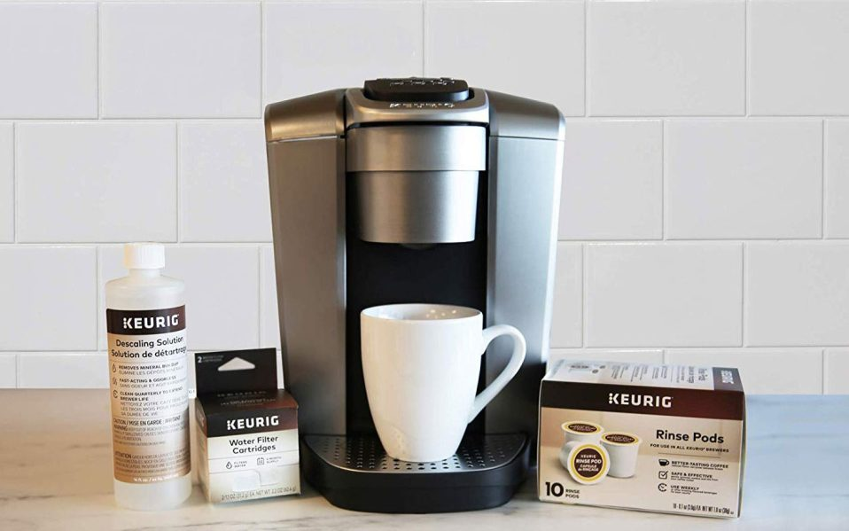 how to clean a keurig coffee