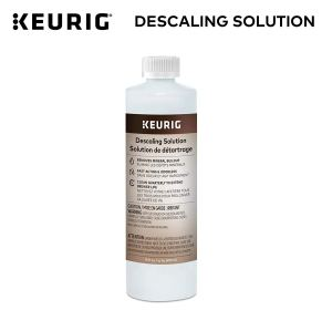 how to clean a keurig coffee machine descaling liquid