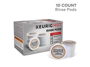 how to clean a keurig coffee machine rinse pods
