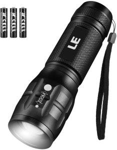 best running lights le cree flashlight