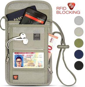 Lewis N Clarke travel wallet