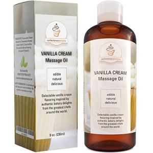 vanilla cream edible sensual massage oil