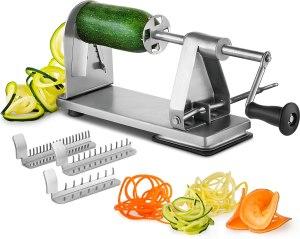 best zucchini noodle maker mitbak stainless steel
