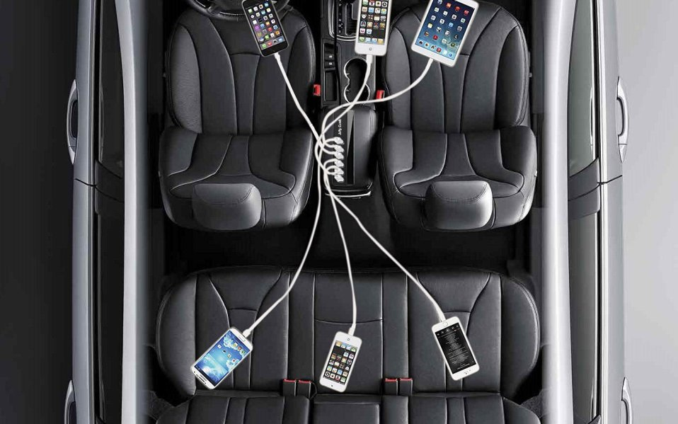 Multiport Car Charger