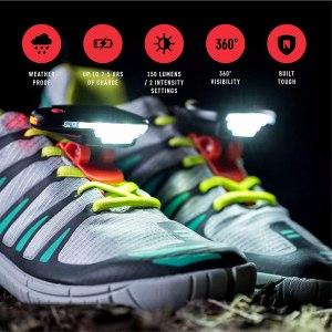 best running lights night runner 270 shoe lights