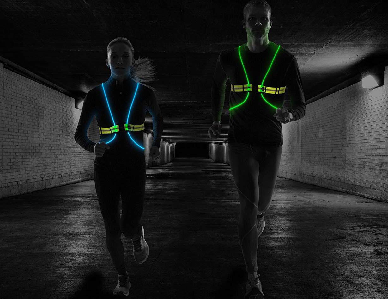 Running Lights for Joggers Outdoor LED Chest Light Night Running Lights 1 THS