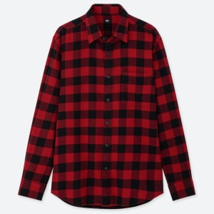 UNIQLO Flannel Checked Shirt