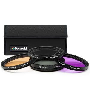 Polaroid color correction filter