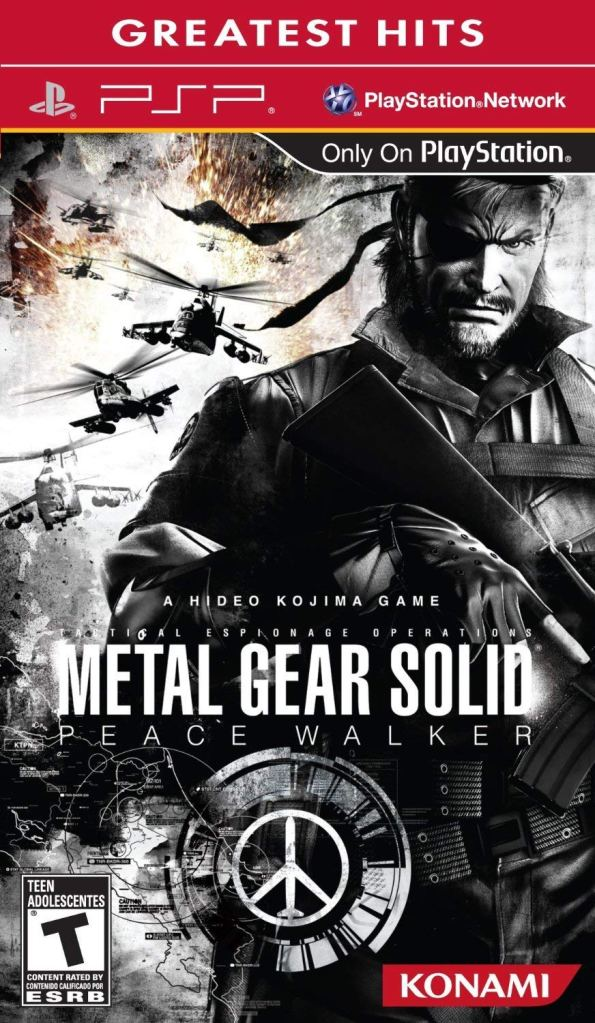 psp metal gear solid