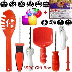 pumpkin carving kit 20-piece