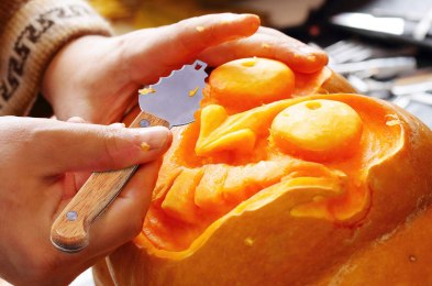 win your block's best pumpkin award this Halloween with these carving tools and patterns