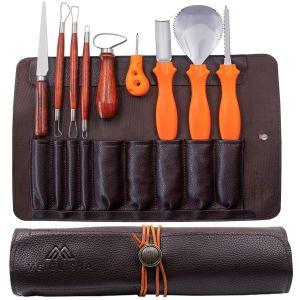 pumpkin carving kit 10-piece