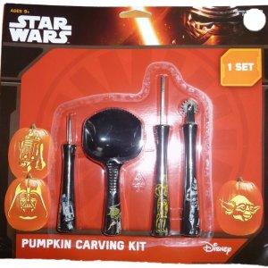 pumpkin carving kit star wars