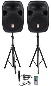 Rockville RPG122K Dual Powered Speakers