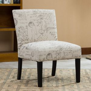 Roundhill Botticelli English Letter Accent Chair
