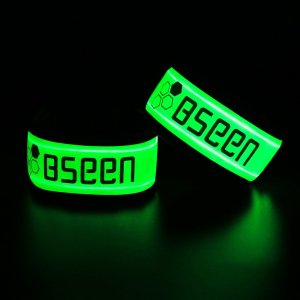 LED running wristbands, great running light