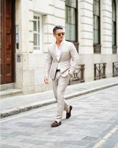 Linen Suit Summer Outfits