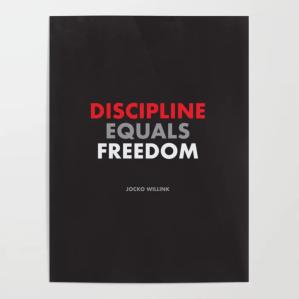 best motivational posters discipline jocko willink quote
