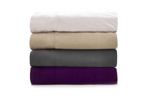 cooling sheets purple viscose
