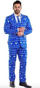funny suit hanukkah clothing