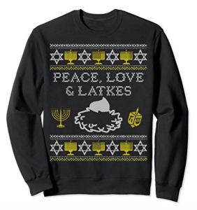 hanukkah sweater funny