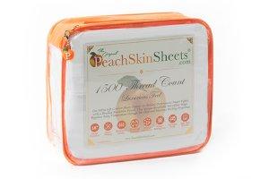 cooling sheets peachskin