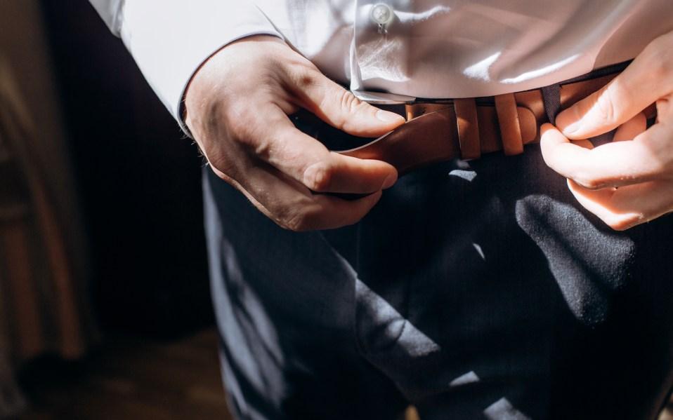 best men's black and brown belts