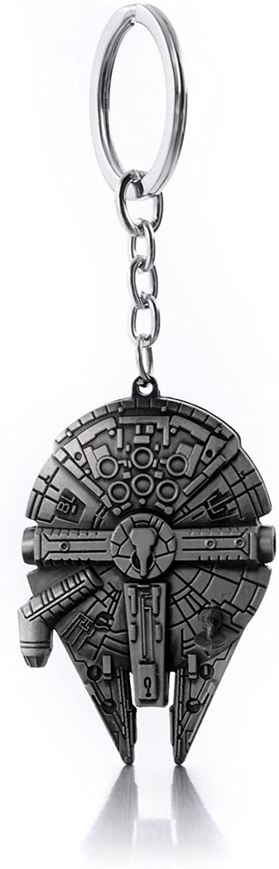 cool keychains for men - Star Wars Millennium Falcon Keychain