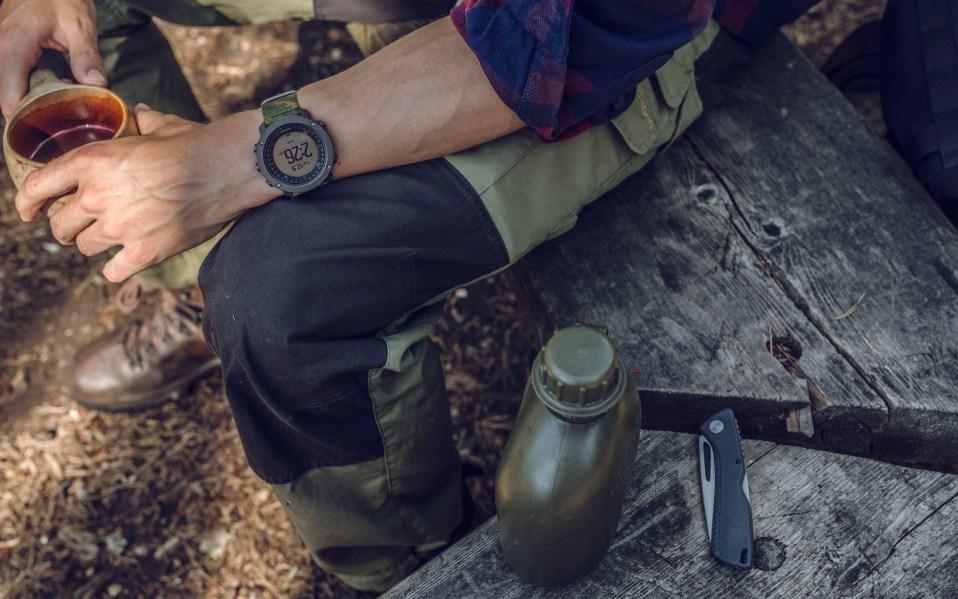 Suunto Traverse Alpha Woodland Watch