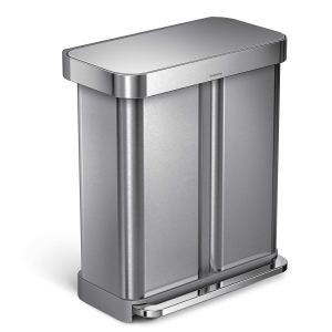 touchless trash can simplehuman
