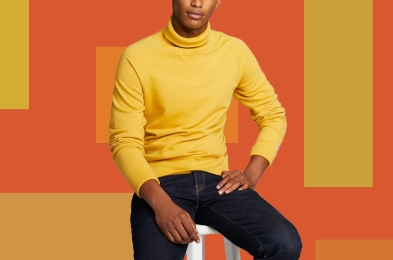 Man in Turtleneck