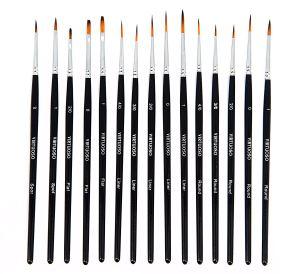 Virtuoso 15-Piece Fine Paintbrush Set