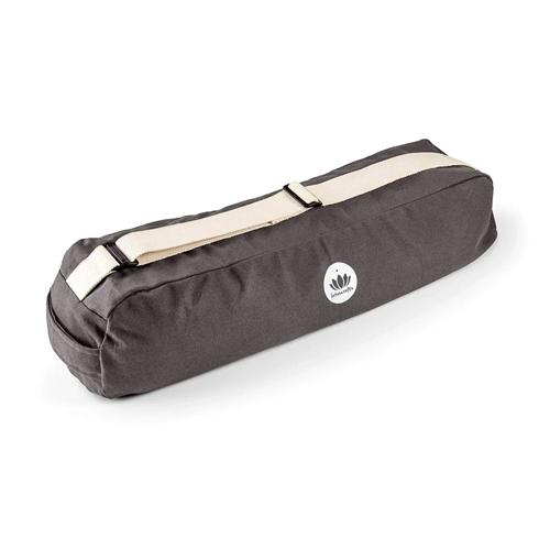 eco-friendly lotus crafts yoga mat bag on a white background