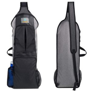 imarana backpack style yoga mat bag on a white background
