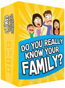 Do your really know your family game