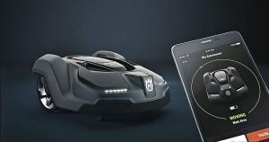 Robot Lawn Mower Smartphone controlled