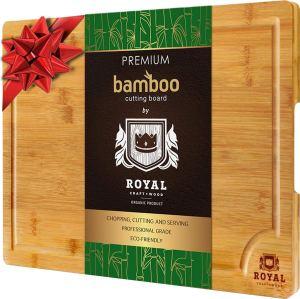 Cutting Board Bamboo Turkey