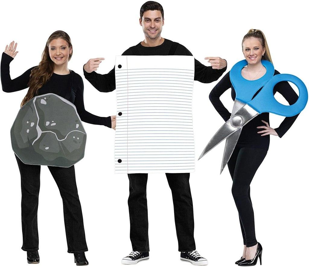 Rock, Paper, Scissors Halloween Costume